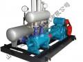 工业企业高效节能蒸汽回收机组