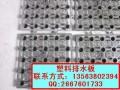 2公分高塑料车库顶板排水板价格20高聚乙烯排水板厂家