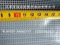 1.7m米宽PVC透明夹网布周转台车防尘帘用布