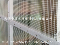 透明夹网防尘隔断