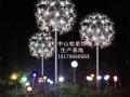 户外蒲公英景观灯厂家铭星灯饰专业生产街道亮化蒲公英路灯