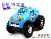 供应【保宝窝】迪斯尼翻斗汽车/会翻跟斗的玩具小汽车